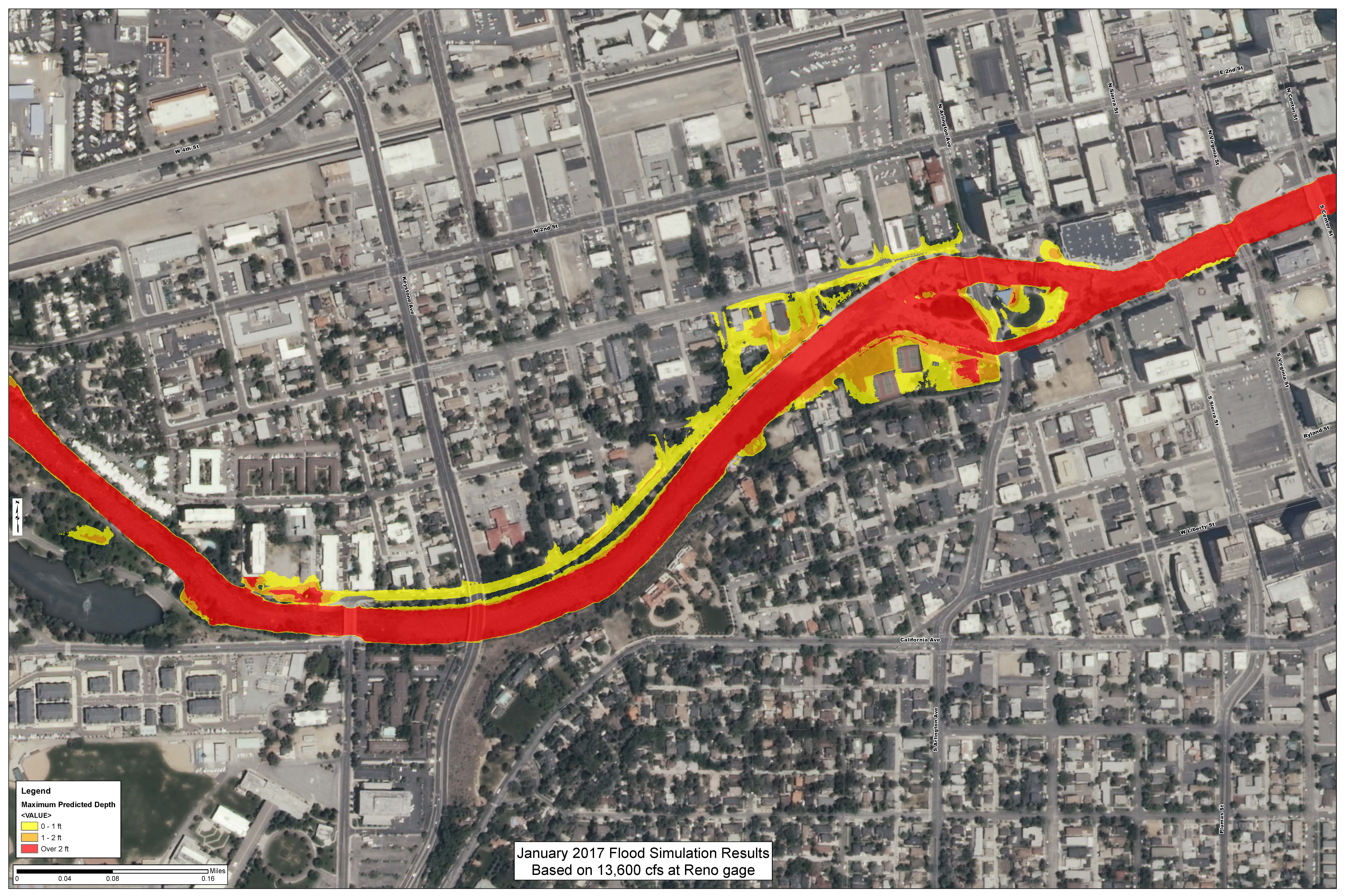 Reno River Walk Map | Reno-Sparks Indian Colony on