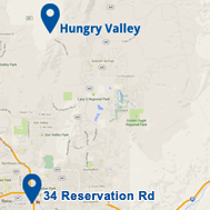 Our Hungry Valley and Reno locations